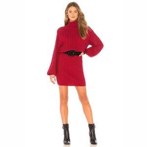 NWT Joie Jelinelle Turtleneck Sweater Dress Small